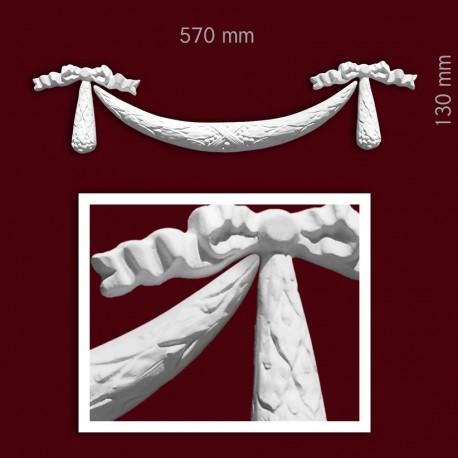 Element ozdobny SMC51 570x130x22mm