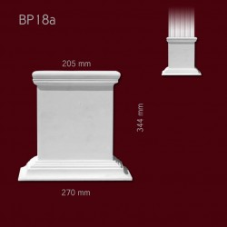 Baza SBP18a(do pilastra SPL18) 270x344x98mm
