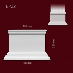 Baza SBP32(do pilastra SPL32) 435x285x100mm