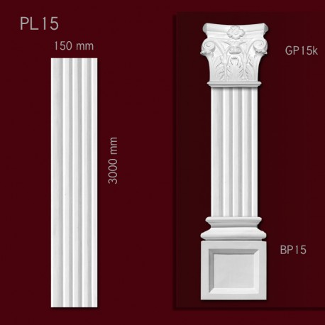 Trzon pilastra SPL15