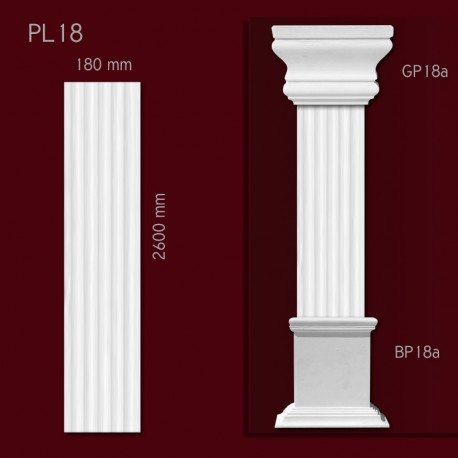 Trzon pilastra SPL18