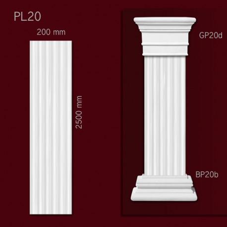 Trzon pilastra SPL20
