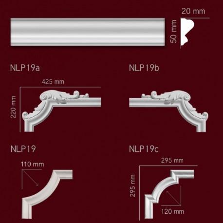 Narożnik SNLP19 200x500mm