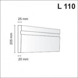 Listwa elewacyjna L110 25x205mm