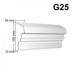 Gzyms elewacyjny G25 50x155 mm