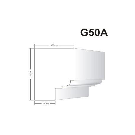 Gzyms elewacyjny G50A 175x230mm