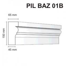 Listwa elewacyjna Pil Baz 01B 65x150mm