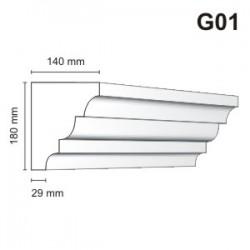 Gzyms elewacyjny G01 140x180mm