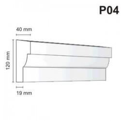 Listwa podokienna P04 40x120mm