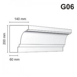 Gzyms elewacyjny G06 140x200 mm