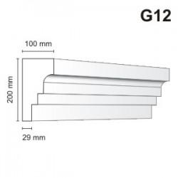 Gzyms elewacyjny G12 100x200 mm