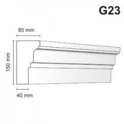 Gzyms elewacyjny G23 80x150 mm