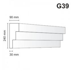 Gzyms elewacyjny G39 90x240 mm