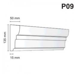 Listwa podokienna P09 50x135mm