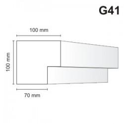 Gzyms elewacyjny G41 100x100m