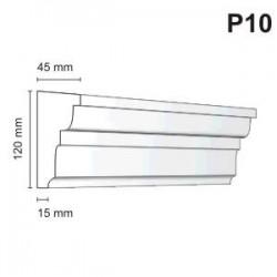 Listwa podokienna P10 45x120mm