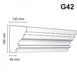 Gzyms elewacyjny G42 120x190