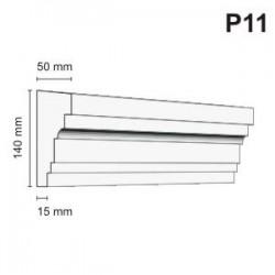 Listwa podokienna P11 50x140mm