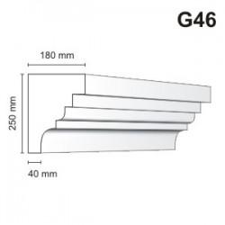 Gzyms elewacyjny G46 180x250mm