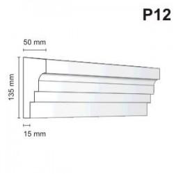 Listwa podokienna P12 50x135mm
