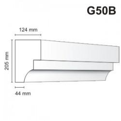 Gzyms elewacyjny G50B 124x205mm
