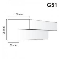 Gzyms elewacyjny G51 100x95mm