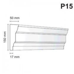 Listwa podokienna P15 50x150mm