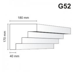 Gzyms elewacyjny G52 180x170mm