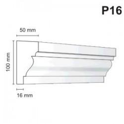 Listwa podokienna P16 50x100mm