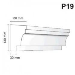 Listwa podokienna P19 80x130mm