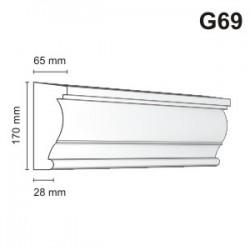 Gzyms elewacyjny G69 65x170mm