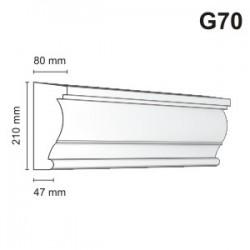 Gzyms elewacyjny G70 80x210mm