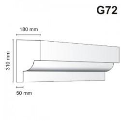 Gzyms elewacyjny G72 180x310mm
