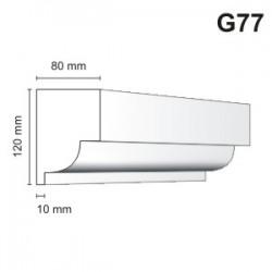 Gzyms elewacyjny G77 80x120mm