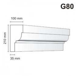 Gzyms elewacyjny G80 100x210mm