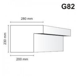 Gzyms elewacyjny G82 280x230mm