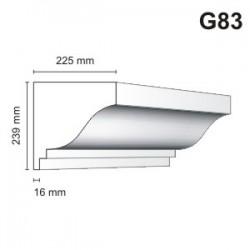 Gzyms elewacyjny G83 225x239mm