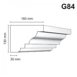Gzyms elewacyjny G84 160x130mm