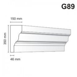 Gzyms elewacyjny G89 150x350mm