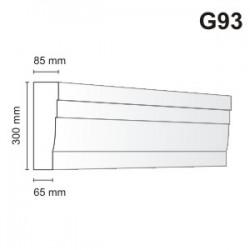 Gzyms elewacyjny G93 85x300mm