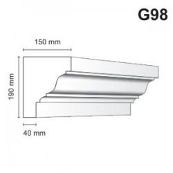 Gzyms elewacyjny G98 150x190mm