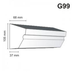 Gzyms elewacyjny G99 68x105mm