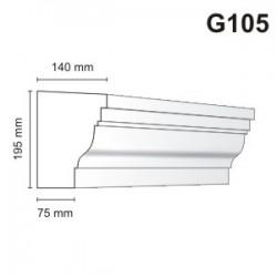 Gzyms elewacyjny G105 140x195mm