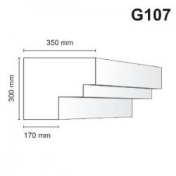 Gzyms elewacyjny G107 350x300mm