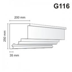 Gzyms elewacyjny G116 200x250mm
