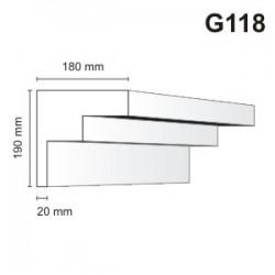 Gzyms elewacyjny G118 180x190mm