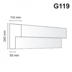 Gzyms elewacyjny G119 110x240mm