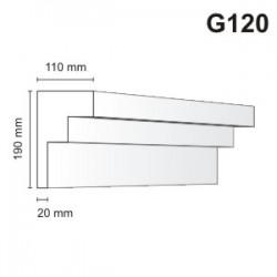 Gzyms elewacyjny G120 110x190mm