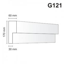 Gzyms elewacyjny G121 60x170mm