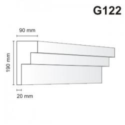 Gzyms elewacyjny G122 90x190mm